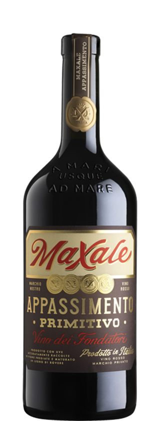 Maxale is intense garnet red in colour, with a complex bouquet reminiscent of cherries, raspberries and redcurrants. The oak ageing adds a pleasant roasted and spicy aroma. Full-bodied, it is supple and wellbalanced, with layers upon layers of dark fruit, fine tannins and a long and lingering finish. Perfect with roasted red meats, game and hard cheeses.